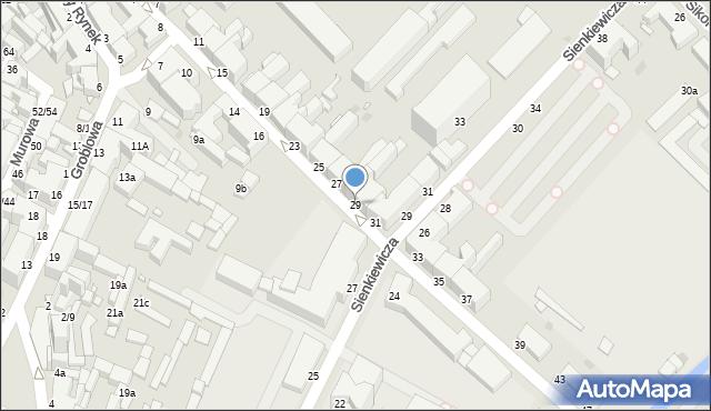 Grudziądz, Kosynierów Gdyńskich, 29, mapa Grudziądza