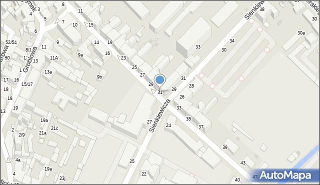 Grudziądz, Kosynierów Gdyńskich, 31, mapa Grudziądza