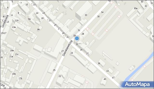 Grudziądz, Kosynierów Gdyńskich, 33, mapa Grudziądza