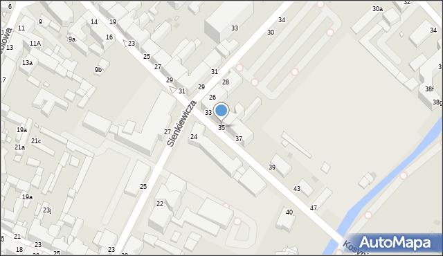 Grudziądz, Kosynierów Gdyńskich, 35, mapa Grudziądza