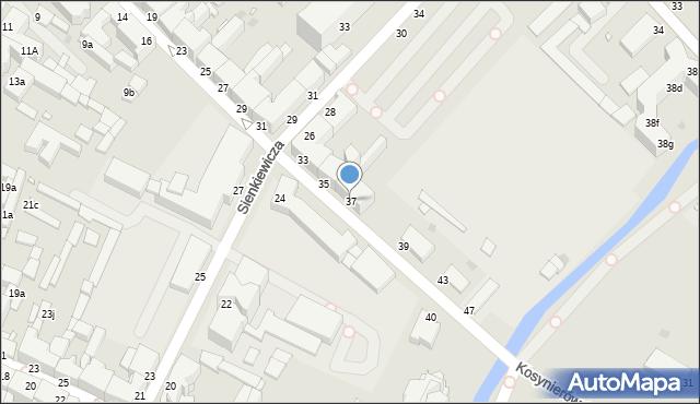 Grudziądz, Kosynierów Gdyńskich, 37, mapa Grudziądza