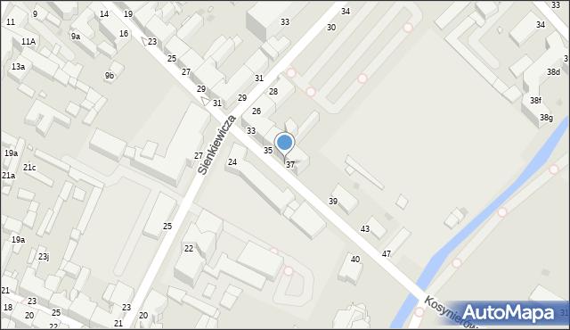 Grudziądz, Kosynierów Gdyńskich, 37a, mapa Grudziądza