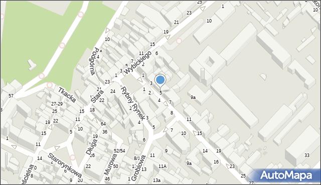 Grudziądz, Kosynierów Gdyńskich, 5, mapa Grudziądza