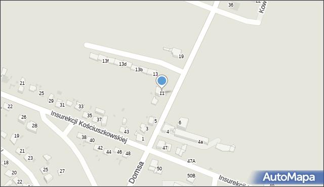 Jaworzno, Kołłątaja Hugo, 11, mapa Jaworzno