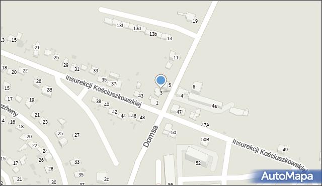 Jaworzno, Kołłątaja Hugo, 3, mapa Jaworzno