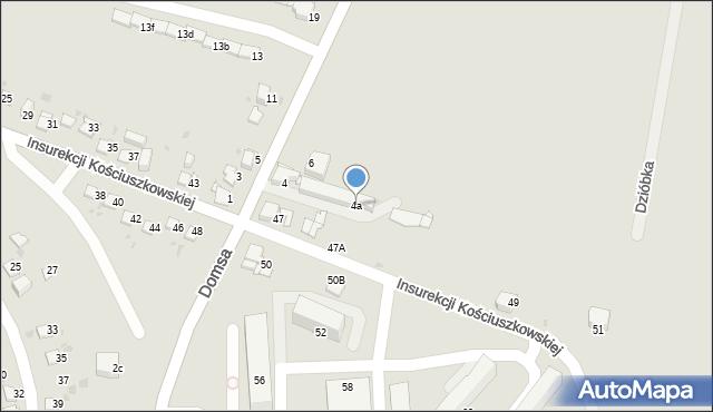 Jaworzno, Kołłątaja Hugo, 4a, mapa Jaworzno