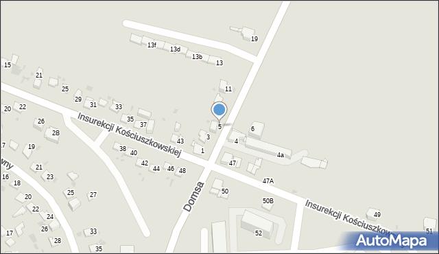 Jaworzno, Kołłątaja Hugo, 5, mapa Jaworzno