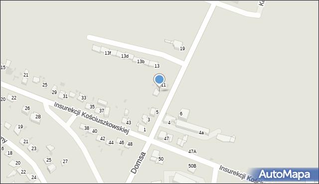 Jaworzno, Kołłątaja Hugo, 9, mapa Jaworzno