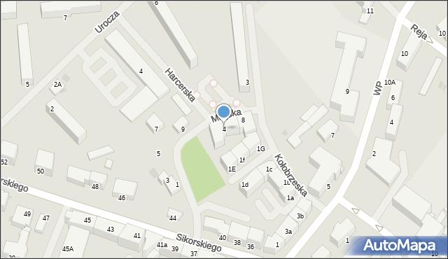 Kętrzyn, Kołobrzeska, 4, mapa Kętrzyn