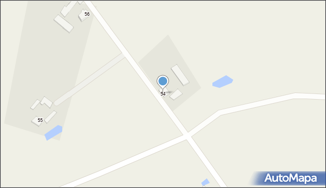 Kolonia Łowiczek, Kolonia Łowiczek, 54, mapa Kolonia Łowiczek