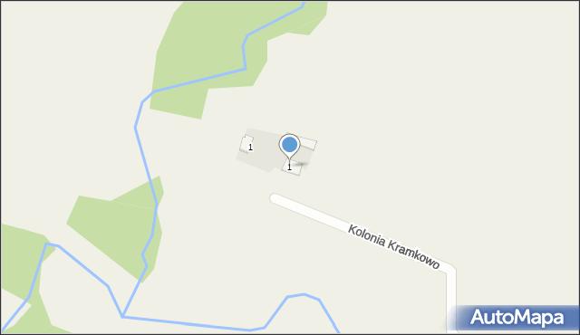 Kolonia Wizna, Kolonia Wizna, 3, mapa Kolonia Wizna