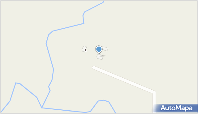 Kolonia Wizna, Kolonia Wizna, 5, mapa Kolonia Wizna