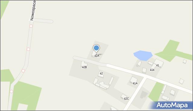 Kończyce-Kolonia, Kończyce-Kolonia, 42A, mapa Kończyce-Kolonia