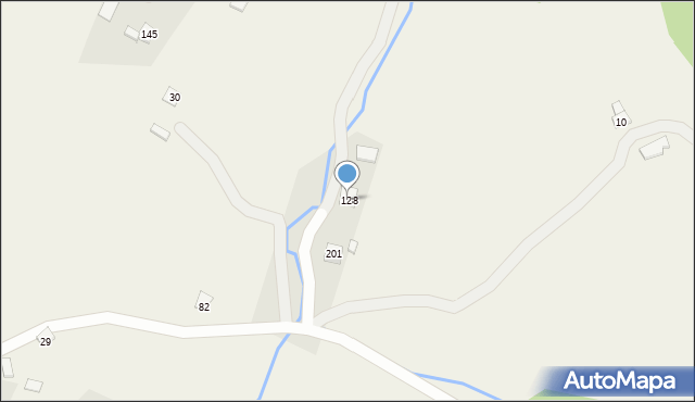 Kornatka, Kornatka, 128, mapa Kornatka