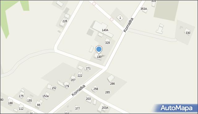 Kornatka, Kornatka, 140, mapa Kornatka