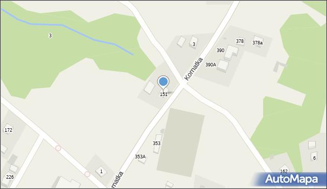Kornatka, Kornatka, 151, mapa Kornatka