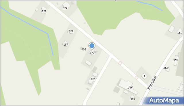 Kornatka, Kornatka, 172, mapa Kornatka