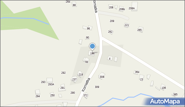 Kornatka, Kornatka, 196, mapa Kornatka