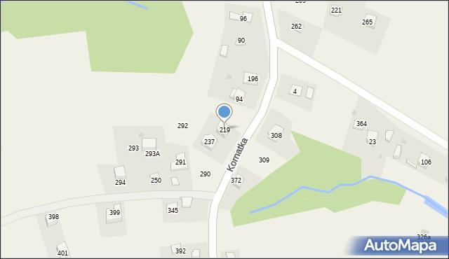 Kornatka, Kornatka, 219, mapa Kornatka