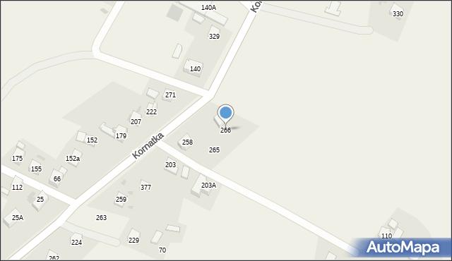Kornatka, Kornatka, 266, mapa Kornatka