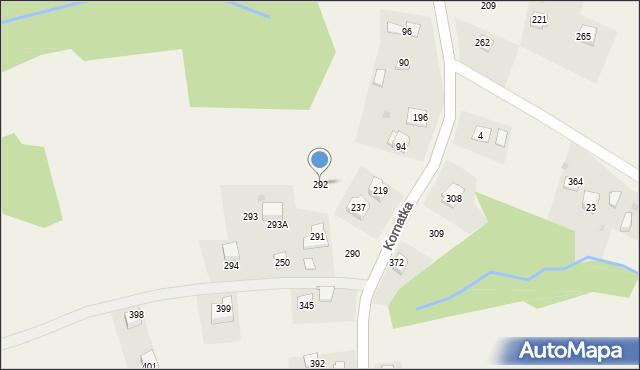 Kornatka, Kornatka, 292, mapa Kornatka