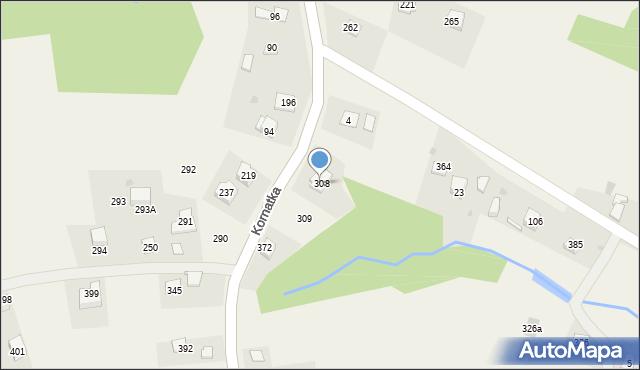 Kornatka, Kornatka, 308, mapa Kornatka