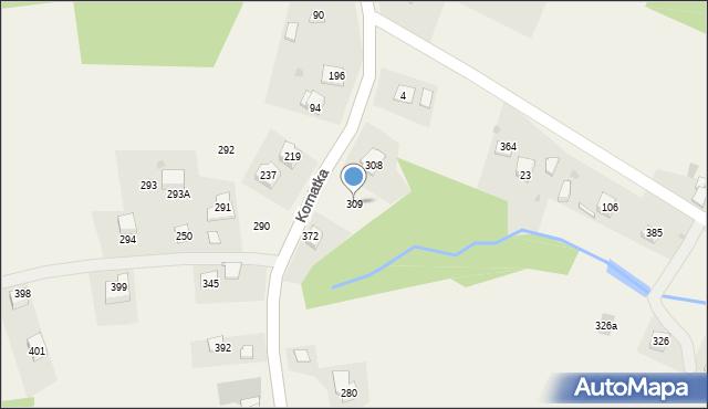 Kornatka, Kornatka, 309, mapa Kornatka