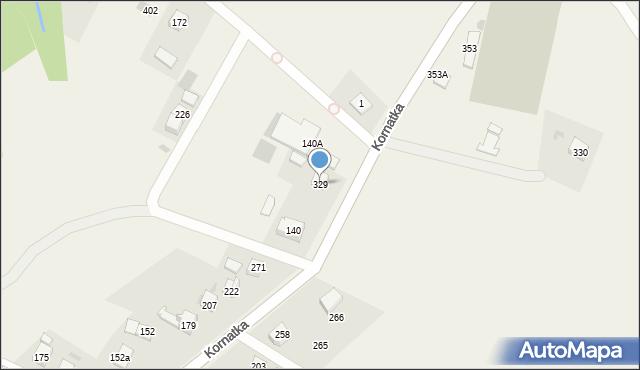 Kornatka, Kornatka, 329, mapa Kornatka