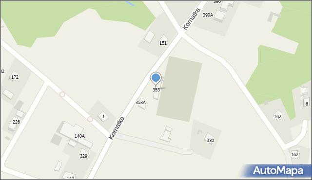 Kornatka, Kornatka, 353, mapa Kornatka