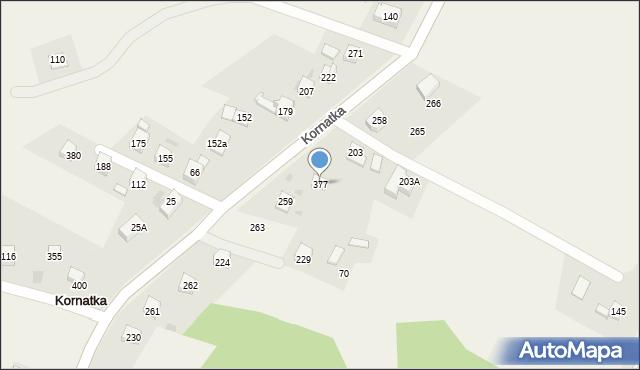 Kornatka, Kornatka, 377, mapa Kornatka
