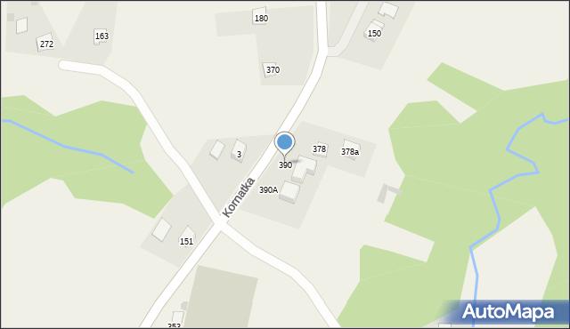 Kornatka, Kornatka, 390, mapa Kornatka