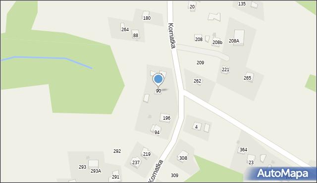 Kornatka, Kornatka, 90, mapa Kornatka