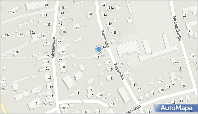Lubaczów, Kopernika Mikołaja, 11, mapa Lubaczów