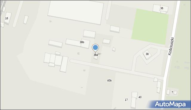 Mogilno, Kościuszki Tadeusza, gen., 38a, mapa Mogilno