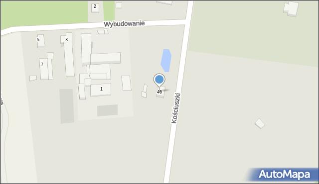Mogilno, Kościuszki Tadeusza, gen., 46, mapa Mogilno