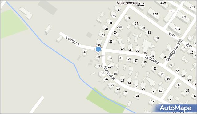 Myszków, Korczaka Janusza, 35, mapa Myszków