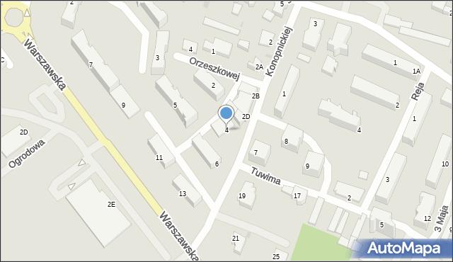 Nowy Dwór Gdański, Konopnickiej Marii, 4, mapa Nowy Dwór Gdański