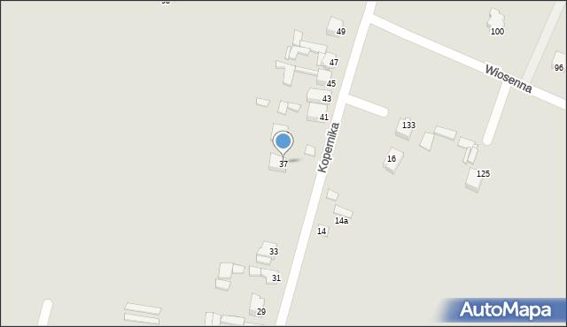 Poręba, Kopernika Mikołaja, 37, mapa Poręba