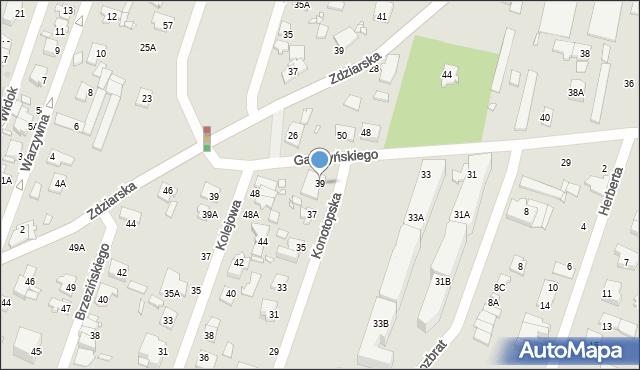 Pruszków, Konotopska, 39, mapa Pruszków