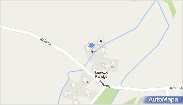 Przeciszów, Kolonia, 39, mapa Przeciszów