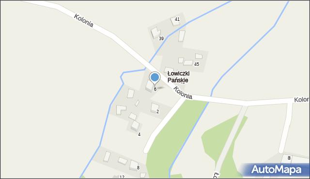 Przeciszów, Kolonia, 6, mapa Przeciszów