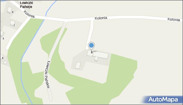 Przeciszów, Kolonia, 8, mapa Przeciszów