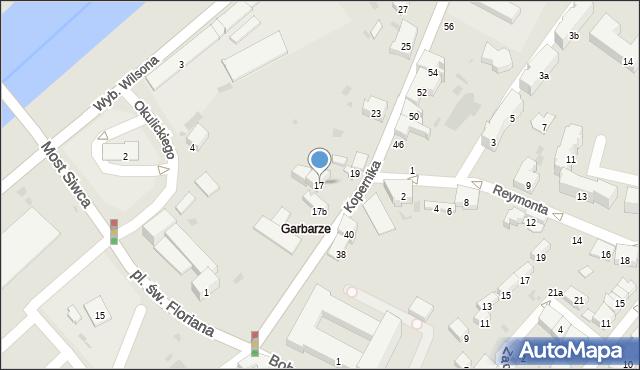 Przemyśl, Kopernika Mikołaja, 17, mapa Przemyśla