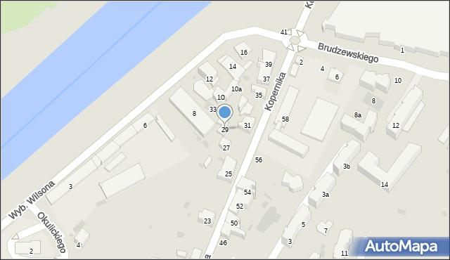 Przemyśl, Kopernika Mikołaja, 29, mapa Przemyśla