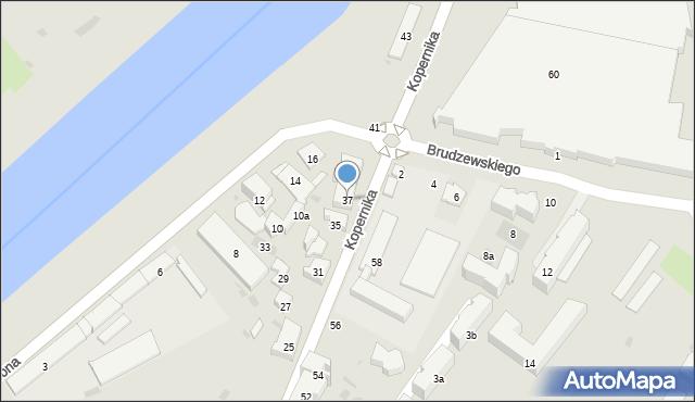 Przemyśl, Kopernika Mikołaja, 37, mapa Przemyśla
