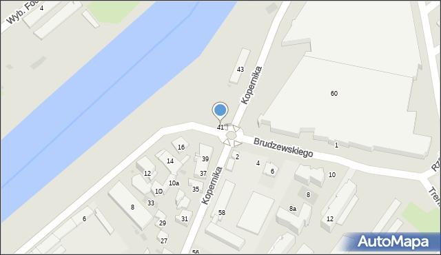 Przemyśl, Kopernika Mikołaja, 41, mapa Przemyśla