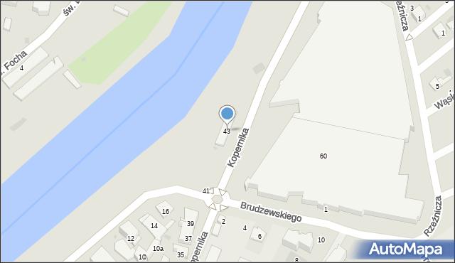 Przemyśl, Kopernika Mikołaja, 43, mapa Przemyśla