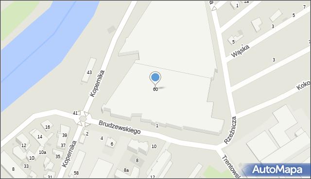 Przemyśl, Kopernika Mikołaja, 60, mapa Przemyśla