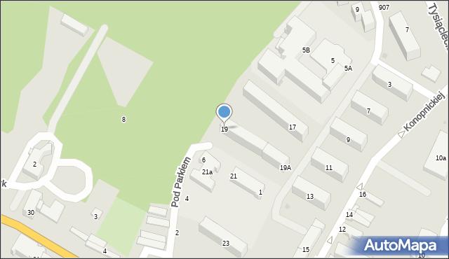 Przeworsk, Konopnickiej Marii, 19, mapa Przeworsk