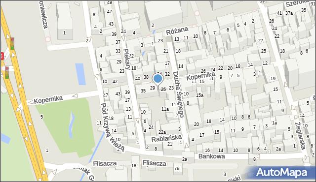 Toruń, Kopernika Mikołaja, 27, mapa Torunia